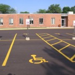 Accessibilte parking space