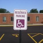Accessibile Parking Sign